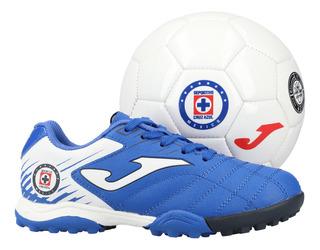 Kit Joma Futbol Cruz Azul Niño Multicolor