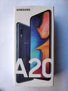 Celular Samsung Galaxy A20 - 32gb - Pantalla Rota!