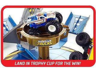 Hot Wheels Monster Trucks Pist Tubarão - Mattel - Sortido