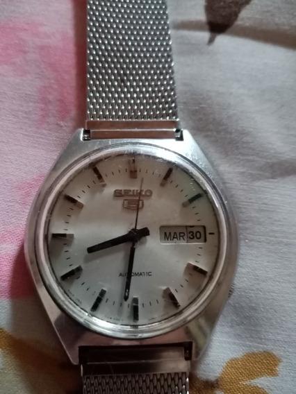 Reloj Seiko 5 Automatic Año 70s