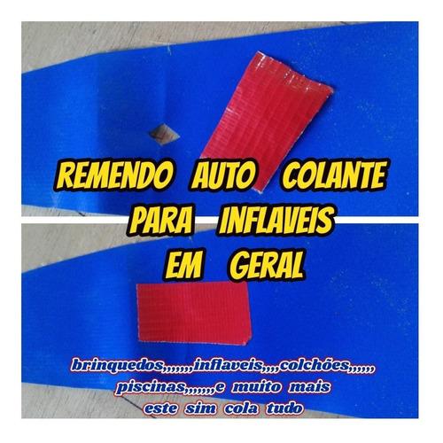 Piscinas Remendo Auto Colante P/inflaveis Etc C/frete Gratis