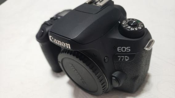 Câmera Canon 77d - Apenas Corpo