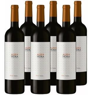 Vino Alma Mora Malbec 750ml Tinto Botella Caja X6