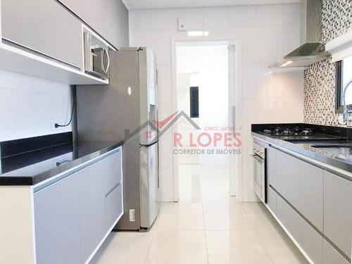 Maravilhoso Apartamento Para Locação No Bairro Anália Franco, 4 Dorm, 3 Suíte, 3 Vagas, 180 M - 2063
