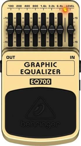 Pedal Behringer Eq700 Equalizador | Original | Nf E Garantia