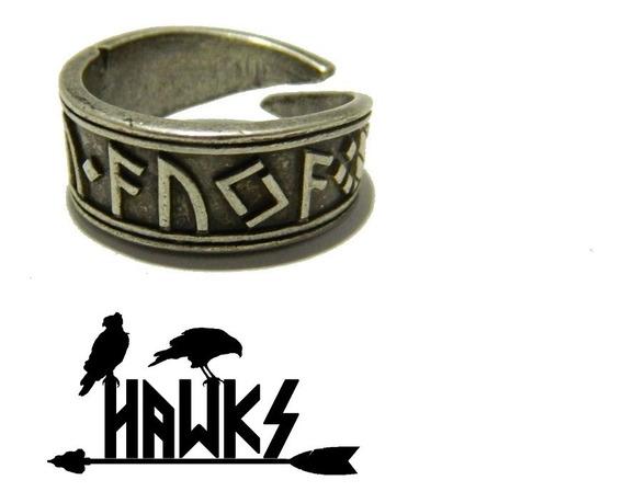 Anel Viking Runa Gibu Auja - Art Hawks
