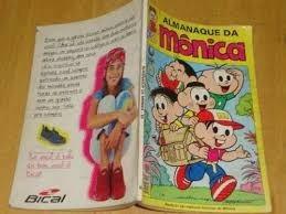 Almanaque Da Mônica - Editora Globo 84 Pág. Nºs 89 E 93