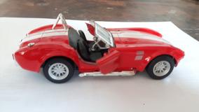Carrinho Coleção Shelby Cobra 427 1965 Ferro Fricção