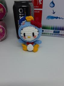 Amigurumi Hello Kitty Personagens - Pronta Entrega - 8 Cm