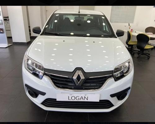 Auto Renault Logan Life 1.6 Anticipo + Cuota Fija Tasa 0%  W