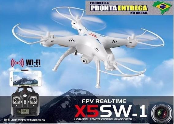 Drone Syma X5sw-1 C/ Câmera Hd 4k Fpv Wi-fi