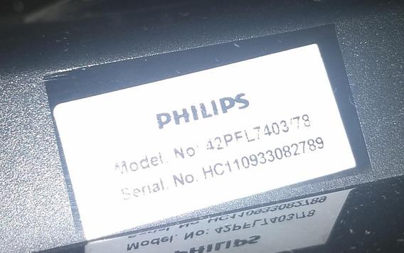 Tv 42 Philips Funcionando Normalmente