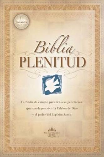 Biblia De Estudio Plenitud - Cartulina - Reina Valera 1960
