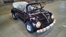 Mini Fusca Preto - Motorizado / Buggy