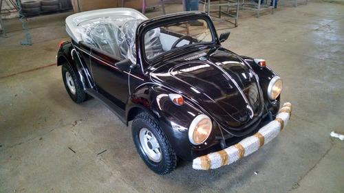 Imagem 1 de 7 de Mini Fusca Preto - Motorizado / Buggy 2021