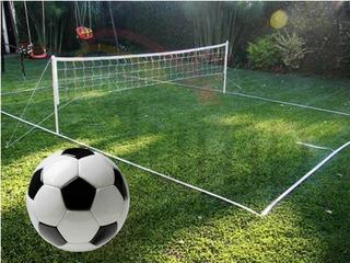 Juguete Cancha Futbol Tenis Red Completa Pelota Dia Del Niño