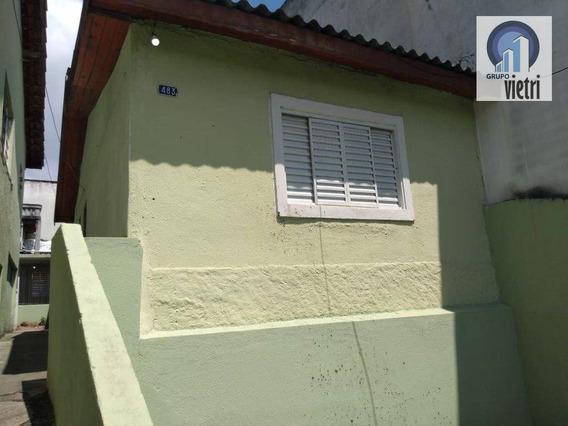 Casa Com 1 Quarto E Cozinha Americana Em Exelente Localização Proximo A Escolas E Comercios Com Facíl Condução. - Ca0999