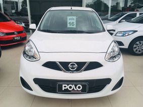 Nissan March 1.6 S 16v 2016 Branco Flex