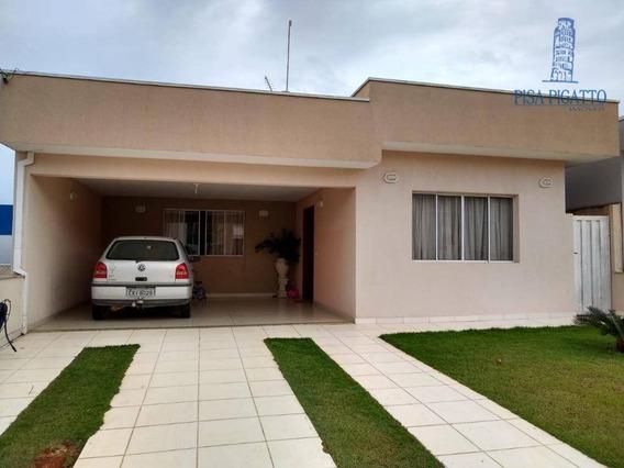 Casa Com 3 Dormitórios À Venda Por R$ 800.000 - Jardim Planalto - Paulínia/sp - Ca2145