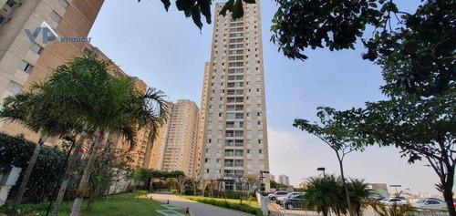 Apartamento Com 3 Dormitórios À Venda, 70 M² Por R$ 410.000,00 - Parque Taboão - Taboão Da Serra/sp - Ap0887