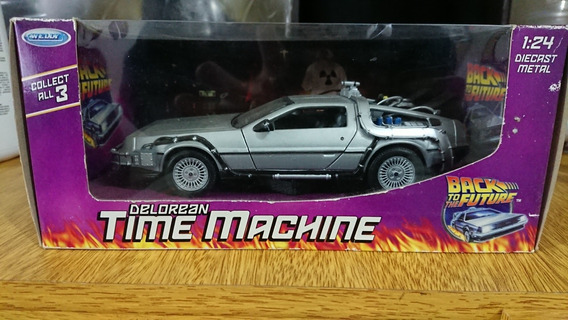 Delorean Volver Al Futuro. Back To The Future. Time Machine