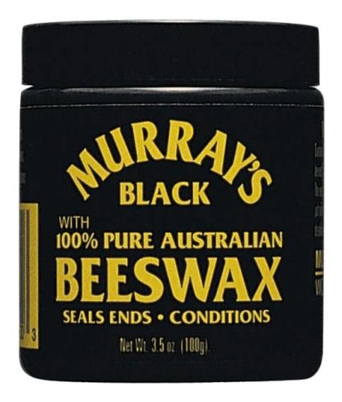 Murrays Black Beeswax Cera Para Cabello 4oz