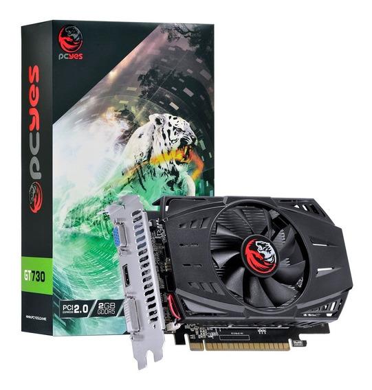 Placa De Video Gt 730 2gb Ddr5 Geforce Nvidia 64bits
