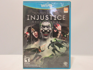 Injustice: Gods Among Us - Wii U ¡fisico-usado!