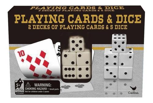 Playing Cards Y Dice 2 Decks Cartas Didacticas