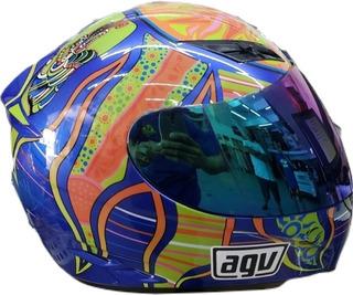 Capacete Agv K3 Five Elements Seminovo 5960 Moto Naked Speed