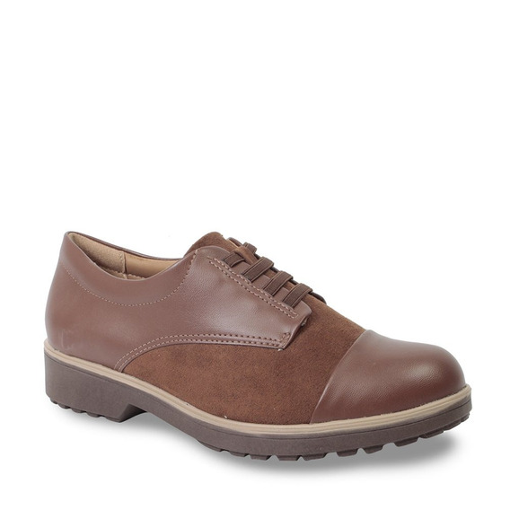 Sapato Oxford Comfortflex Feminino Tratorado 1973304 2019