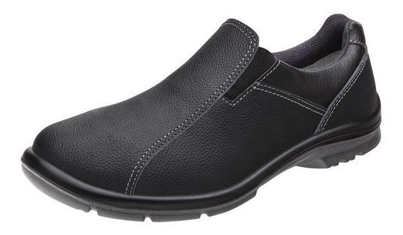 Sapato Baixo Preto Para Trabalho Marluvas 50f61 Srv Garantia