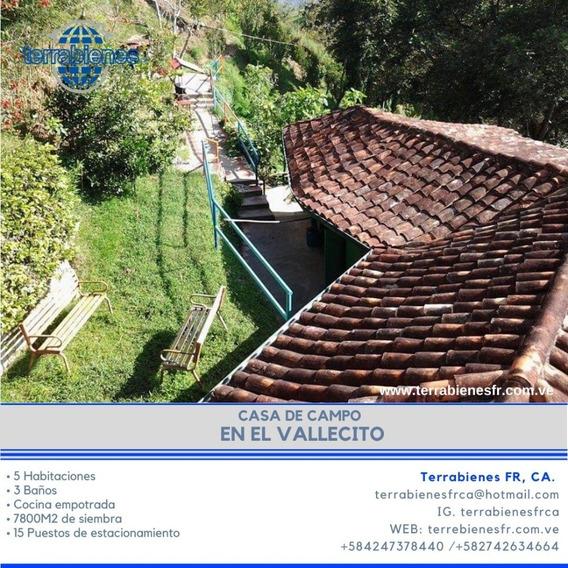 Casa De Campo En El Vallecito