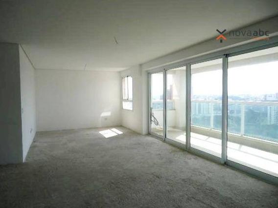 Apartamento Alto Padrão Com 3 Suítes À Venda, 190 M² Por R$ 1.450.000 - Jardim - Santo André/sp - Ap1638