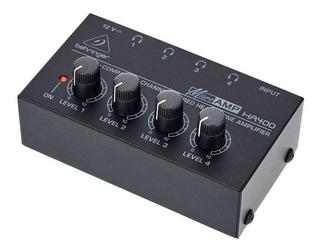 Behringer Ha 400 Amplificador Estéreo Auriculares Ha400