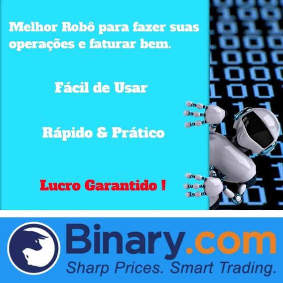 Robô Binary Lucro 100% Garantido Promoção