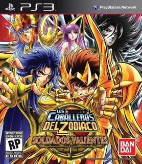 Saint Seiya Brave Soldiers + 2 Juegos ~ Ps3 Digital Español