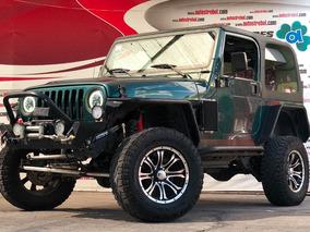 Jeep Wrangler 2001 4x4, Equipado, Bloqueadores, Todo Pagado