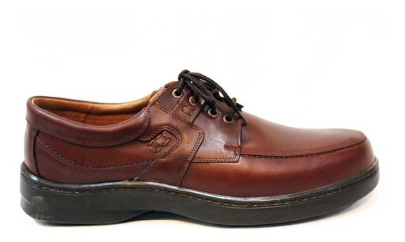 Zapato Cuero Hombre 39 Al 50 Art 5242. Marca Free Comfort