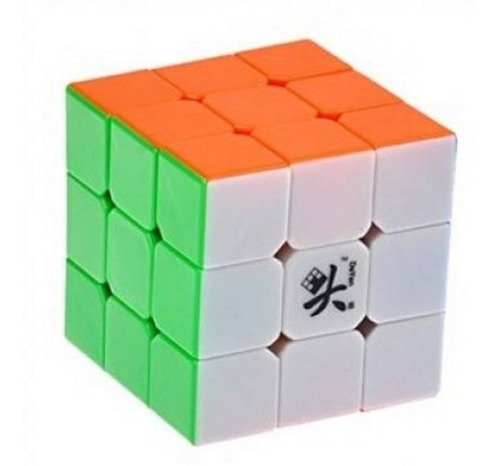 Cubo Magico Dayan Zhanchi V Rubik Stickerless Full Color