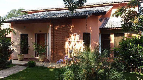 Linda Casa Com Vista Para Reserva No Condomínio Arujazinho Iii, Arujá, Sp - So0104