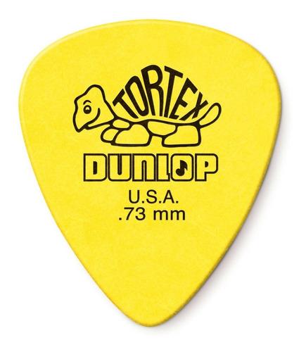 Imagem 1 de 5 de Palhetas Dunlop Tortex 0.73mm Guitarra Violão Kit 6 Unidades