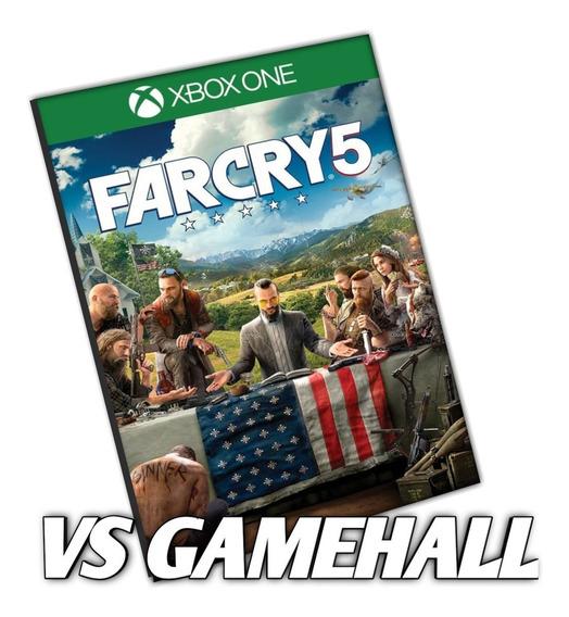 Far Cry 5 Xbox One Mídia Digital Em Português!! + Brinde