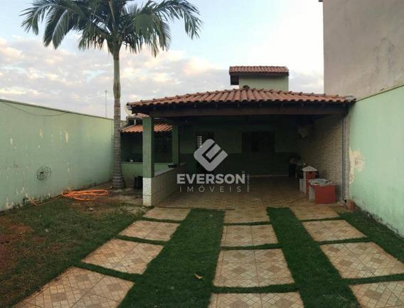 Casa Residencial À Venda, Parque Dos Jequitibas, Santa Gertrudes - Ca0865. - Ca0865