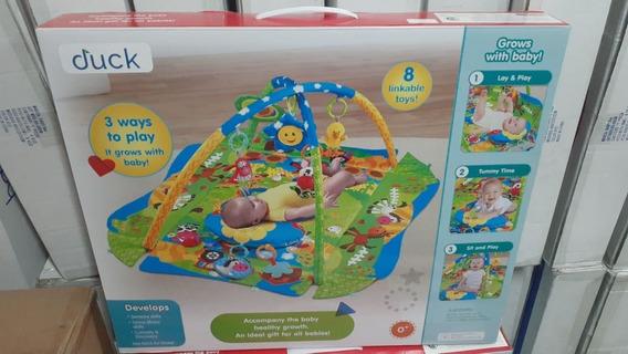 Duck Baby Manta Con Actividades Play Gym Verde 100419