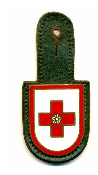 Distintivo De Bolso Antigo Da Escola De Saúde Do Exército