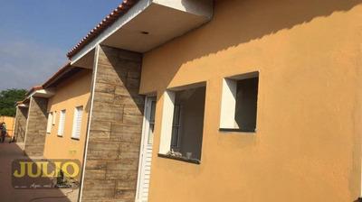 Casa Com 2 Dormitórios Em Condomínio Sem Taxa Com Financiamento Pela Caixa E Minha Casa Minha Vida Cibratel Itanhaém - Ca3394