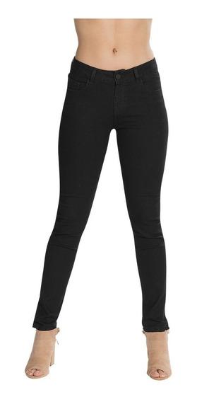 Pantalones Mezclilla Dama Negro Jeans Skinny Mujer V83101