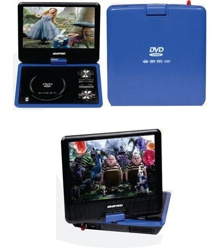 Mini Tv Digital Portatil C/ Dvd Ent. Sd Usb Mp3 Frete Grátis