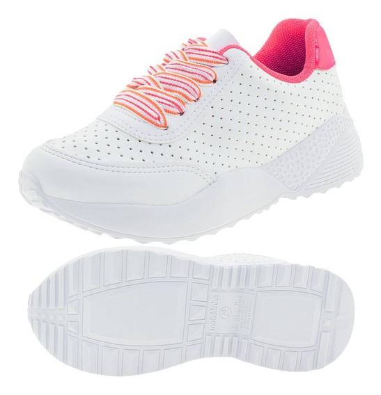 Tenis Infantil Feminino Molekinha Juvenil - 2 Cores